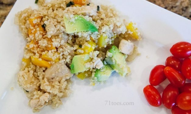 Garlic Chicken and Quinoa