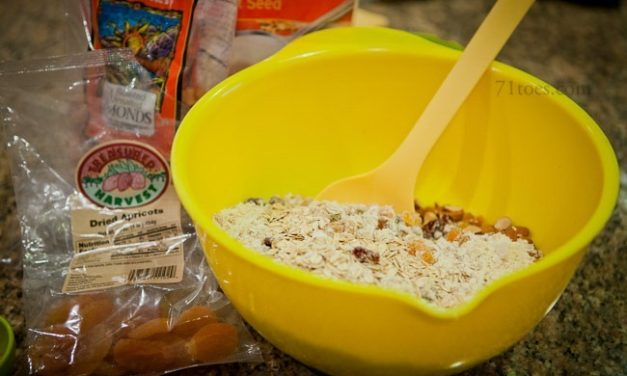 Christy's Home-Made Granola (Regular or Gluten-Free)
