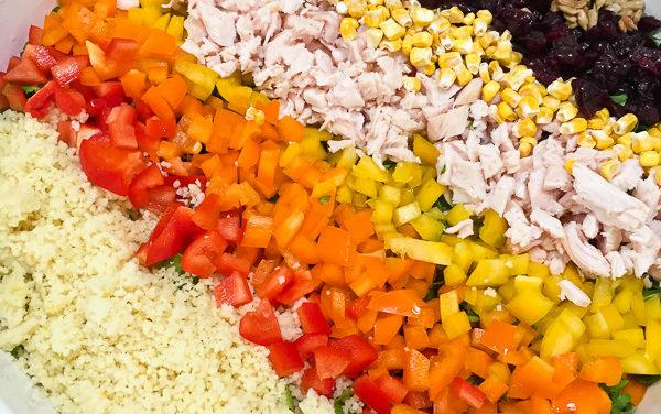 Wildflower Chopped Pesto Vinaigrette Salad