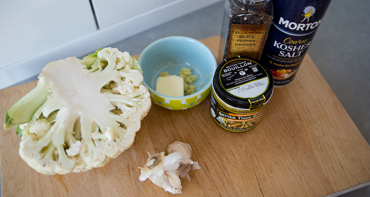 Zoodles With Cauliflower Cream Sauce