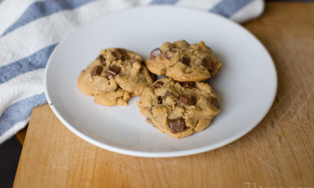 Julie's Peanut Butter Chocolate Chip Cookies
